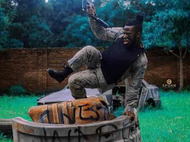 Warrior in Lilongwe, Malawi