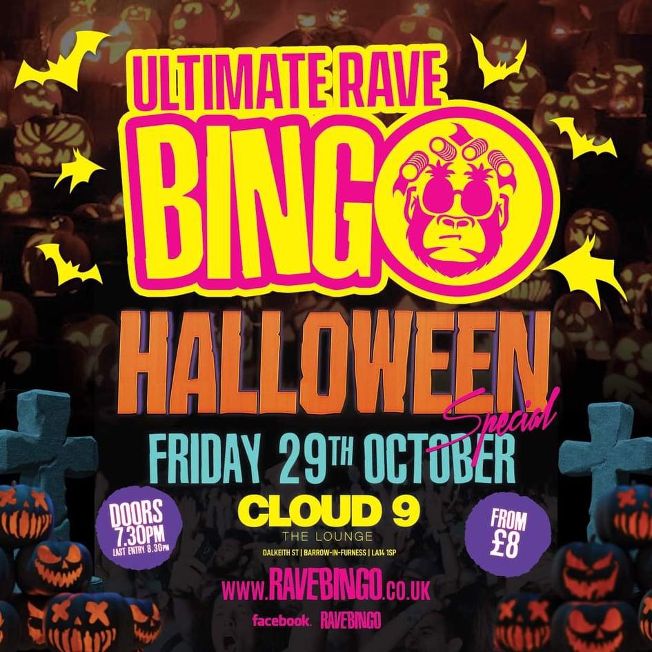 Ultimate Rave Bingo - Halloween Special