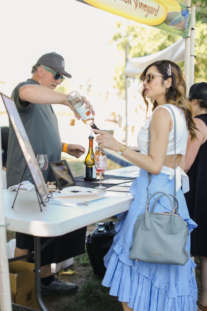 Kristin Reveles x Ojai Wine Festival