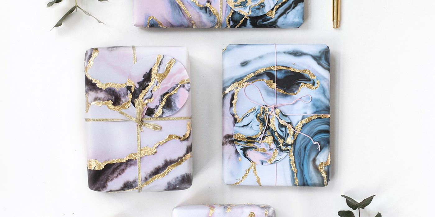 creative gift wrapping with