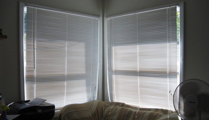 New blinds in the office/guest room