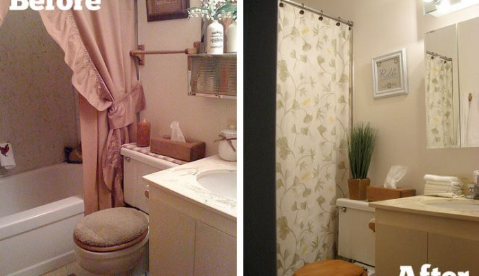 Guest Bathroom: Before and After