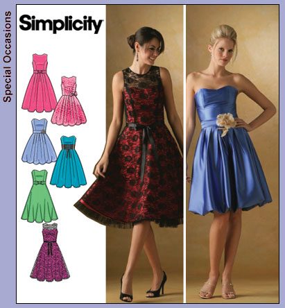implicity 4070 pattern for my bridesmaid dresses
