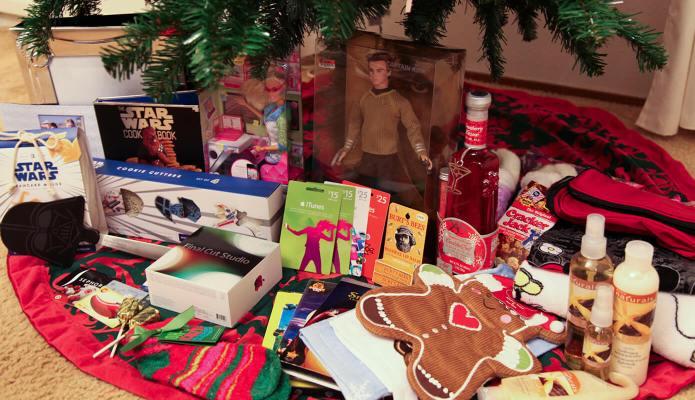 christmas haul 2010