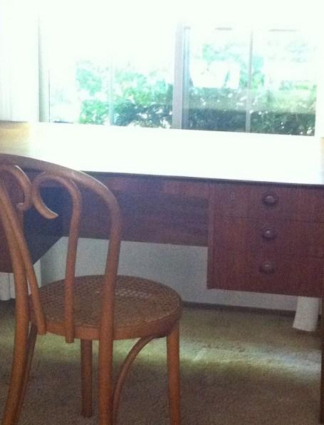 danish desk dining room
