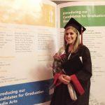 Graduation from The Art Institute of California - Sacramento, 2012 #thelovelygeek