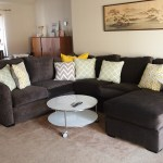 New Sofa and Coffee Table #thelovelygeek