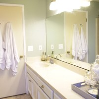 The Guest Bathroom Reveal #stylecure #thelovelygeek