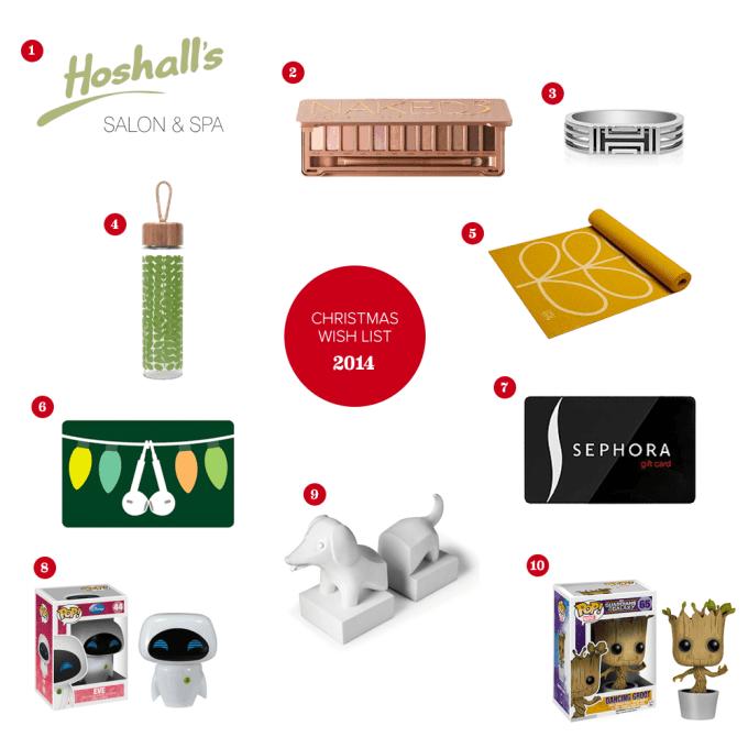 2014 Christmas Wish List #thelovelygeek