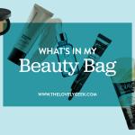 What's in My Beauty Bag: June 2015 #thelovelygeek