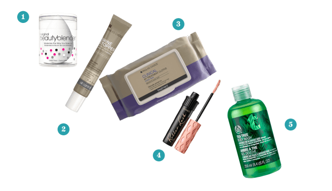 What's in My Beauty Bag: July 2015 #thelovelygeek