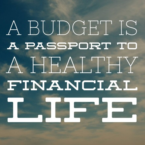A budget is a passport to a healthy financial life. #daveramsey