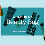 What's in My Beauty Bag: November 2015 #thelovelygeek