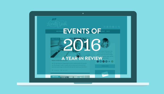 2016 A Year in Review #thelovelygeek