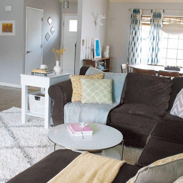 Living Room Rug #thelovelygeek