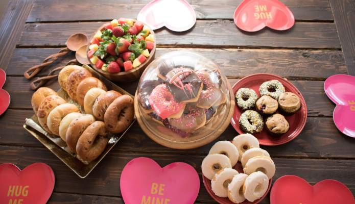 Galentine's Day Brunch 2017 #thelovelygeek