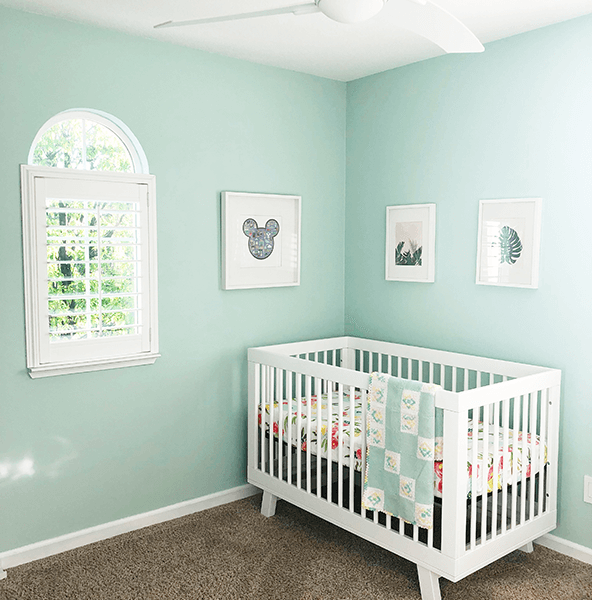 #OneRoomChallenge Week 4 Nursery Progress