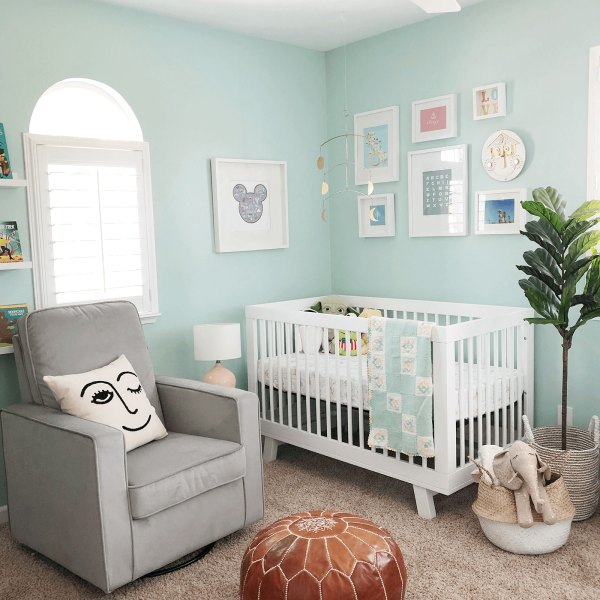 #OneRoomChallenge Week 6 Nursery Reveal