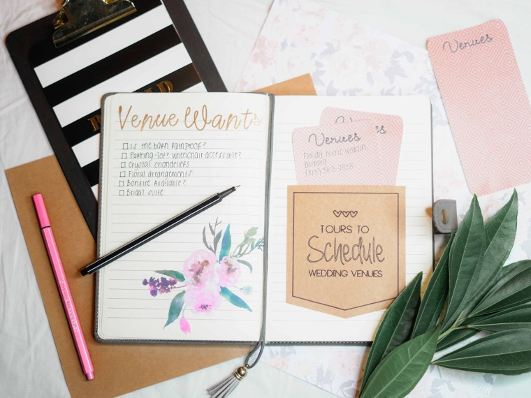 You're engaged! Now What? How I savored the moment and started planning!