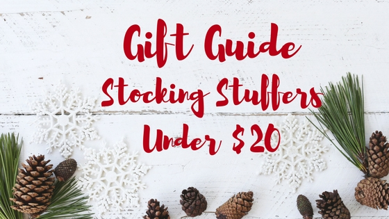 Holiday Gift Guide: Stocking Stuffers Under $20