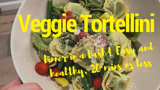 Dinner in a Dash: 20 Minute Veggie Tortellini
