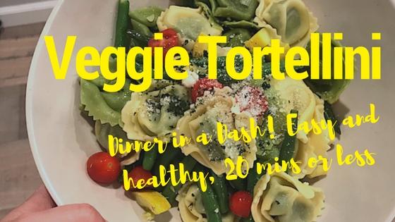 Dinner in a Dash: 20 Minute Veggie Tortellini