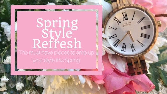 Spring Style | 4 Key Pieces to Refresh Your Look with Unique Watches and Pops of Color