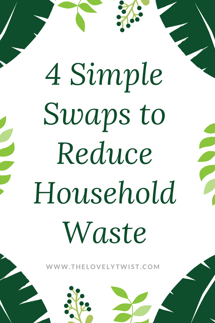 4 Simple Swaps to Reduce Household Waste