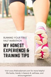 running your first half marathon