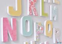 How to Make your own Letter Wall - The Love Nerds