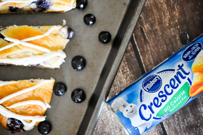 Blueberry Cream Cheese Pillsbury Crescent Roll Recipes