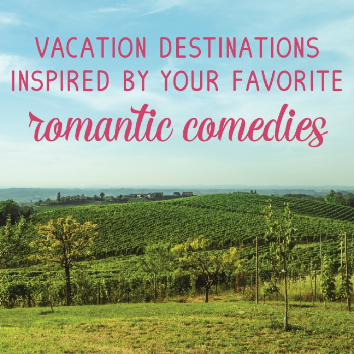 Celebrate your love of Romantic Comedies with all these fabulous ideas inspired by some of your favorites!