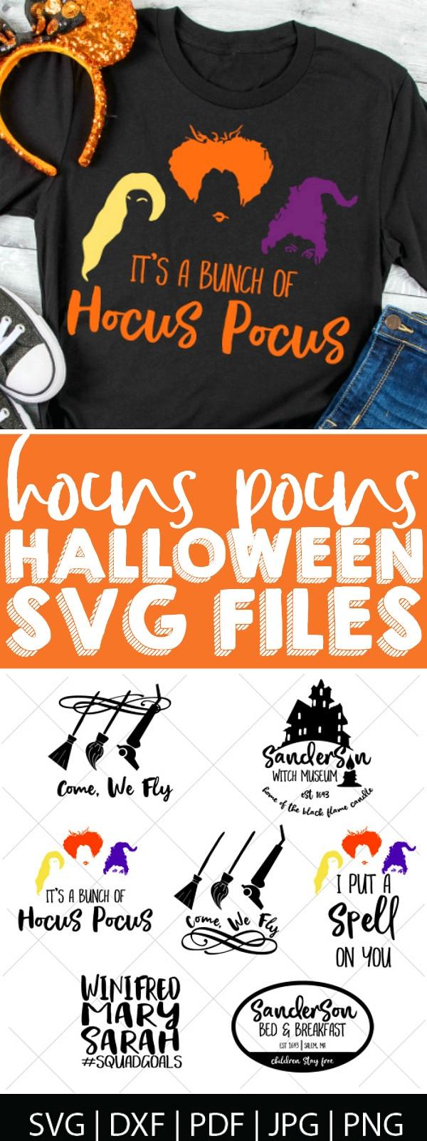 Hocus Pocus Svg : hocus, pocus, Hocus, Pocus, Files, Nerds