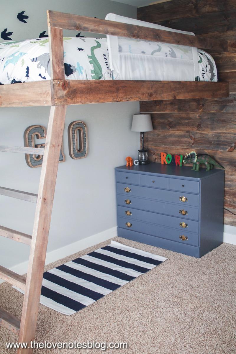 DIY Loft Bed  The Love Notes Blog
