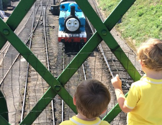 Watercress Line Day Out With Thomas - The Love of a Captain Blog - Feature
