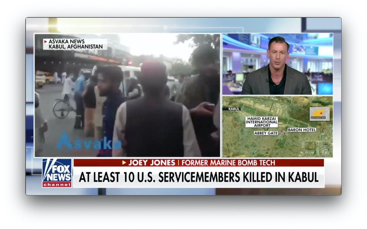 August 26, 2021-Biden administration is lying - Afghanistan explosions: 12 US service members killed in Kabul airport blast, 15 wounded