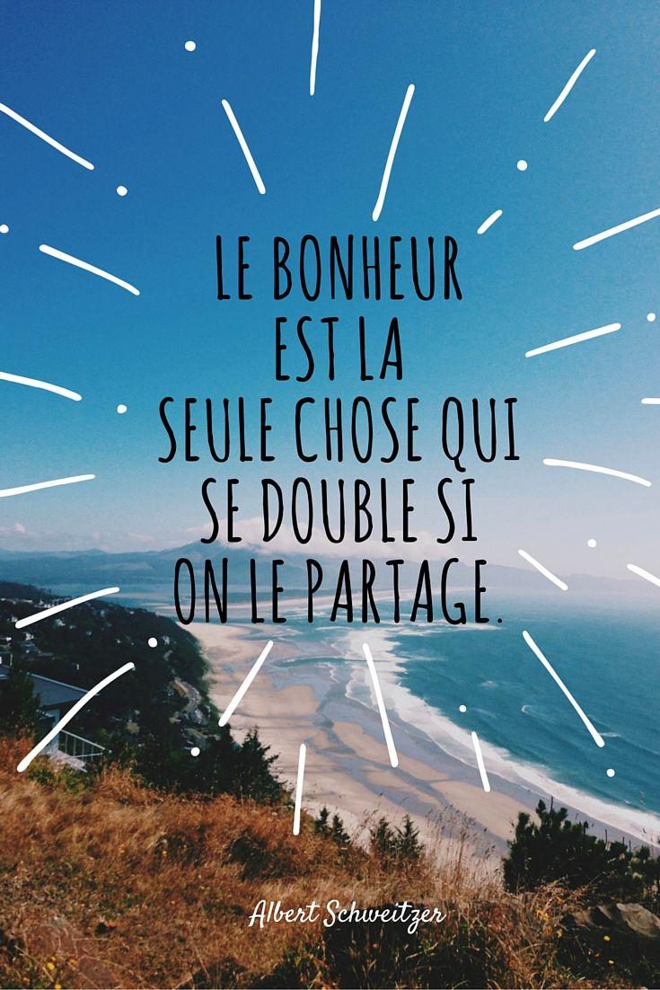 Le Bonheur Est La Seule Chose Qui Se Double Si On Le Partage : bonheur, seule, chose, double, partage, Quotes, Bonheur, Seule, Chose, Double, Partage.