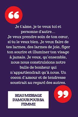 Long Message D Amour Pour Sa Femme : message, amour, femme, Couple, Quotes, Beaux, Messages, D'amour, T'aime, Copine, Looking, Rated, Magazine