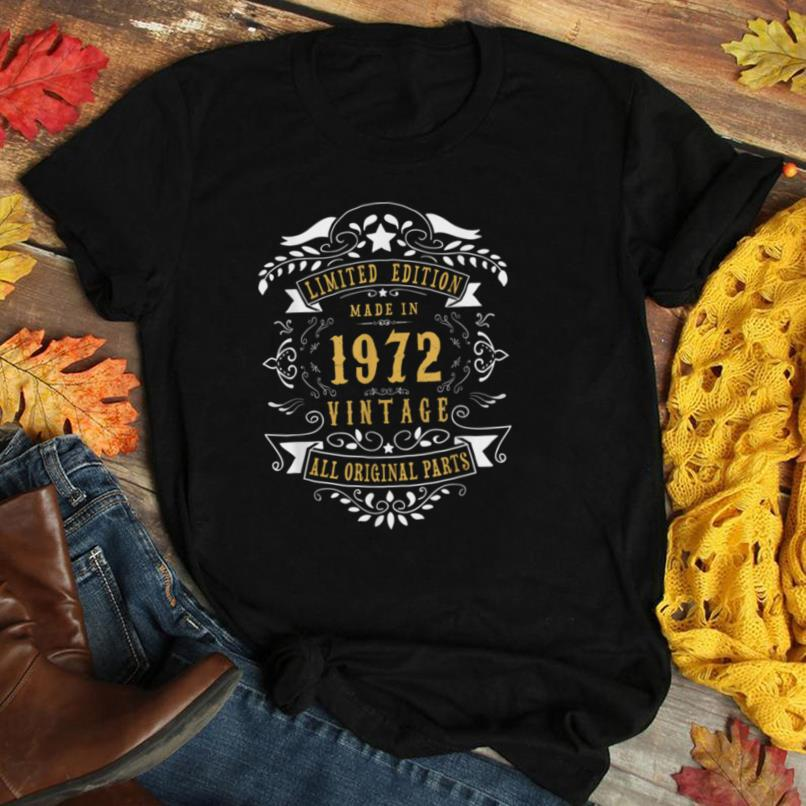 48 years old Made in 1972 48th Birthday, Anniversary Gift T Shirt