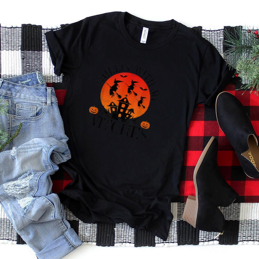 Chillin With My Witches Casual Autumn Fall Halloween T Shirt