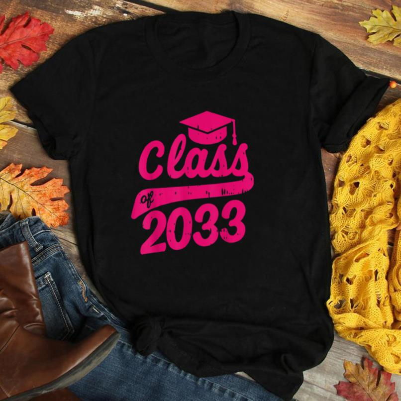 Class Of 2033 Grow With Me First Day Of Kindergarten Gift T Shirt