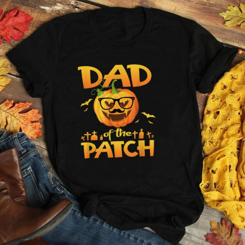 Dad Of The Cutest Pumpkin In The Patch Halloween Costume T Shirt