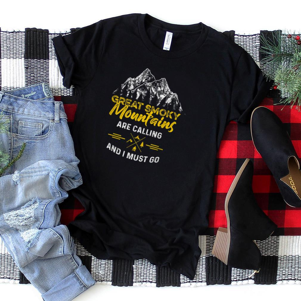Great Smoky Mountains Hiking National Park T Shirt
