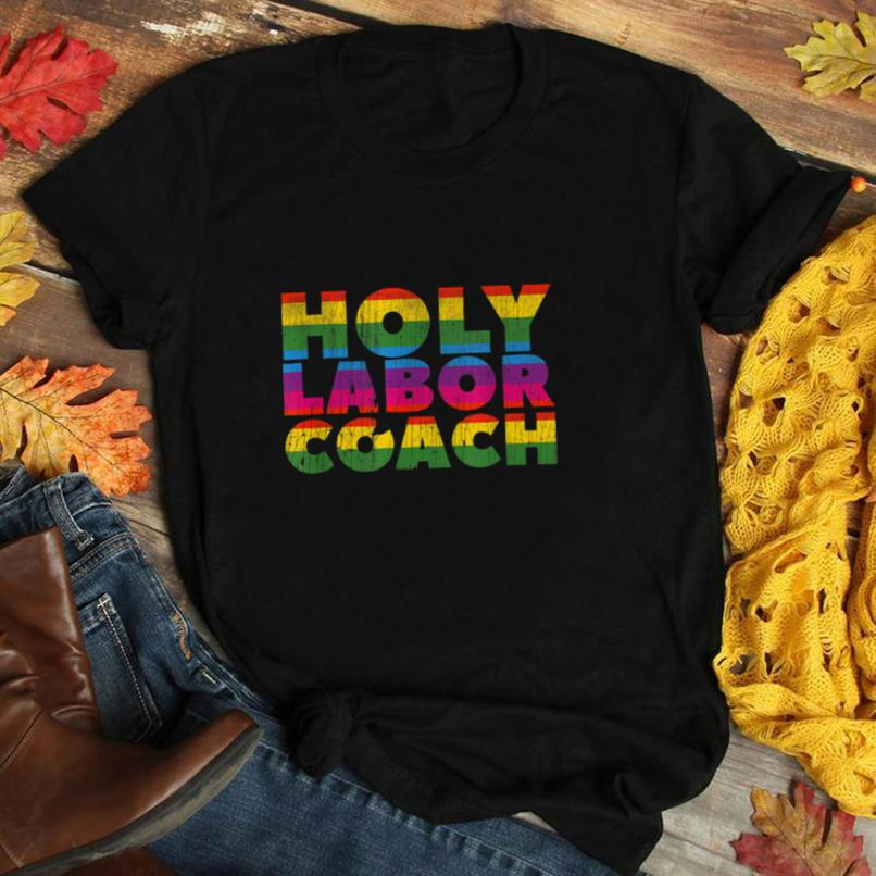 Labor coach dad shirt gift for New Pride Dad and Moms