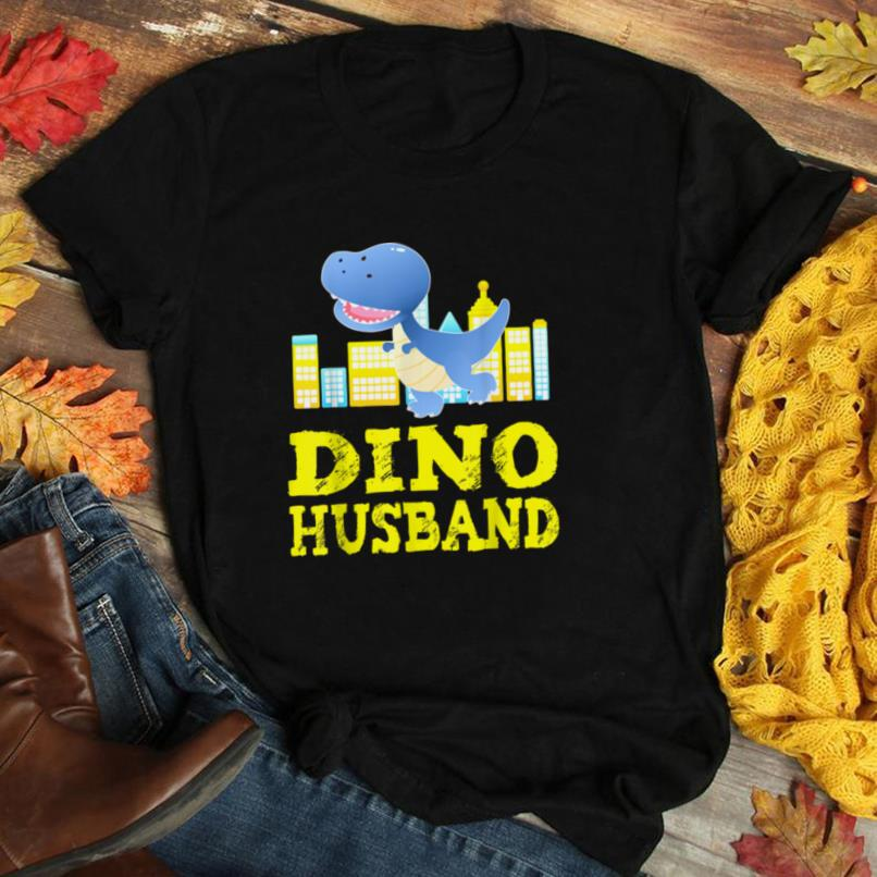 Mens Dinosaur Husband Gifts Family Matching Outfit Men Fathers T Shirt