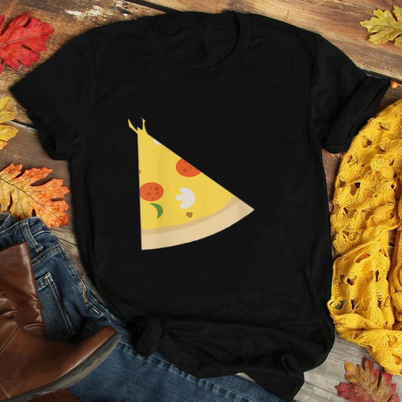 Pizza Piece Slice Missing Father Son Funny Cute T Shirt