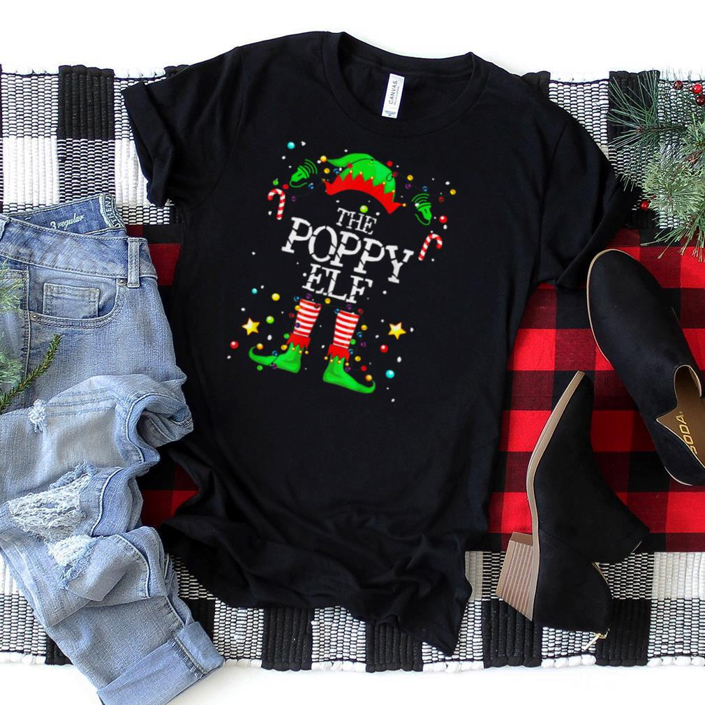 The Poppy Elf Family Matching Group Christmas Gift T Shirt