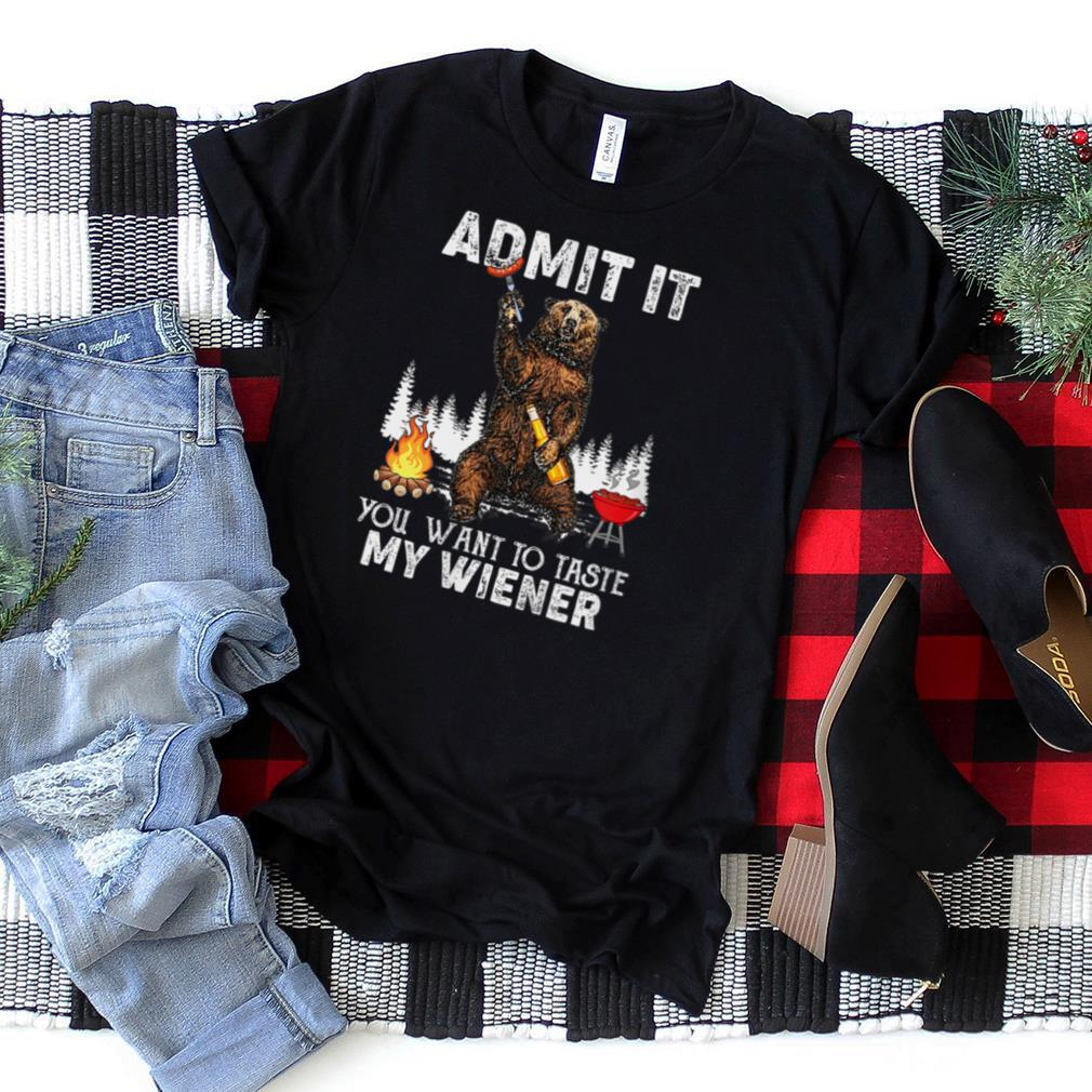 Want To Taste My Wiener Beer Campfire Camping Adventure Gift T Shirt