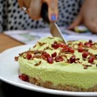 Raw Key Lime Paleo Pie