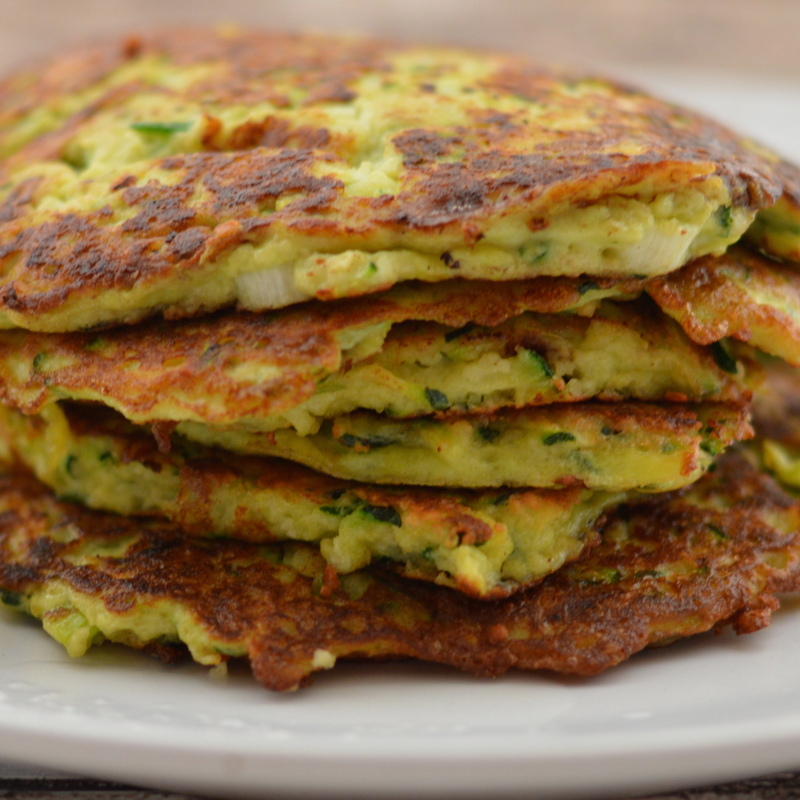 Paleo Courgette Fritters
